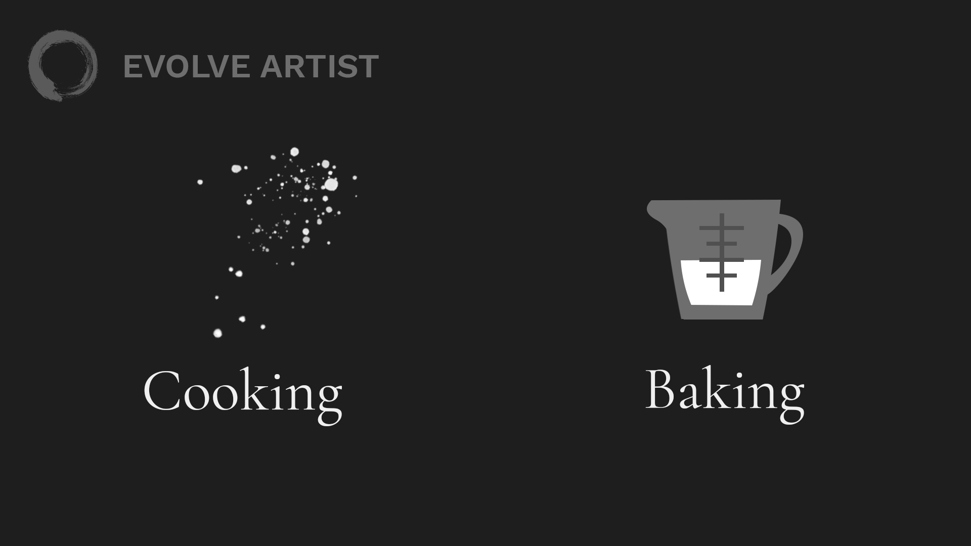 Proportional drawing is precise like baking