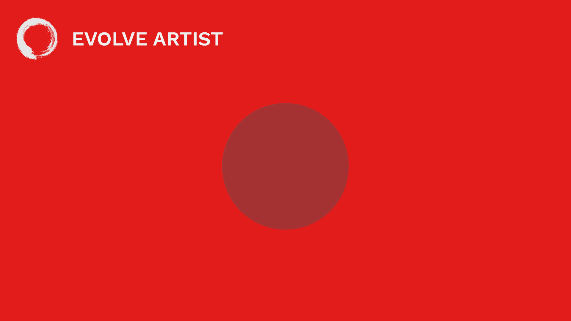 A red circle looks more blue next to a red background
