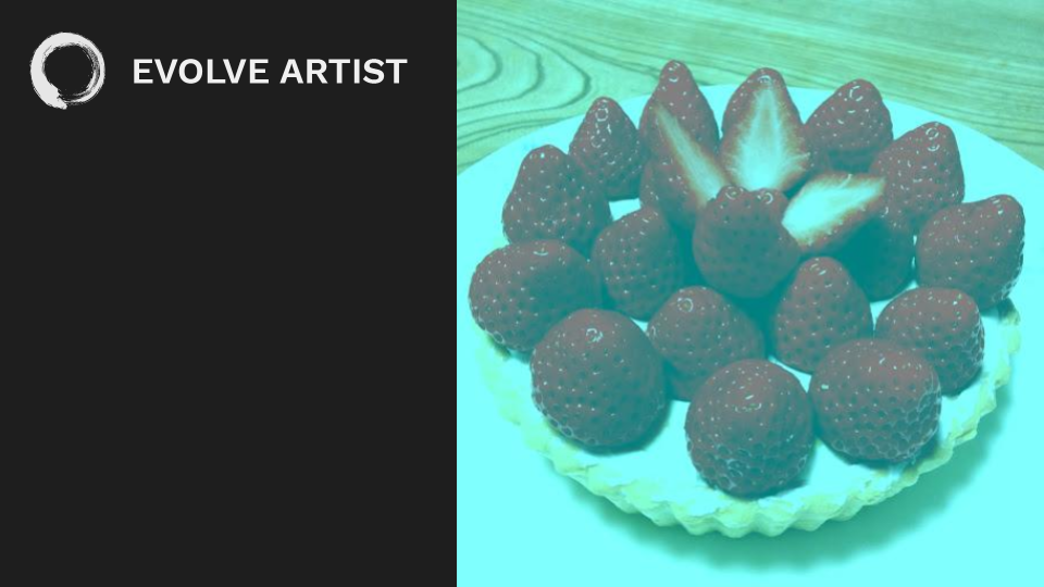 Our brains play tricks on us making us see these strawberries as red when they are gray in reality.