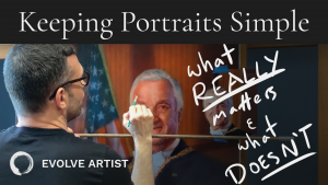 YouTube Video Simplicity in Portrait Painting